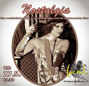 Nostaglia Premieren-Einladung